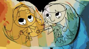 corins cartoons best friends forever