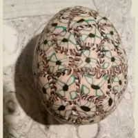 biology in art polymer clay decorated eggs basal keratinocytes with desmosomes