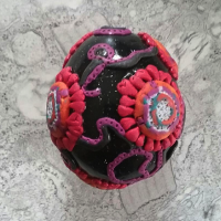 decorated easter egg coronavirus